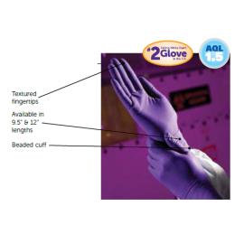 KIMBERLY-CLARK - PURPLE NITRILE -  Exam Gloves